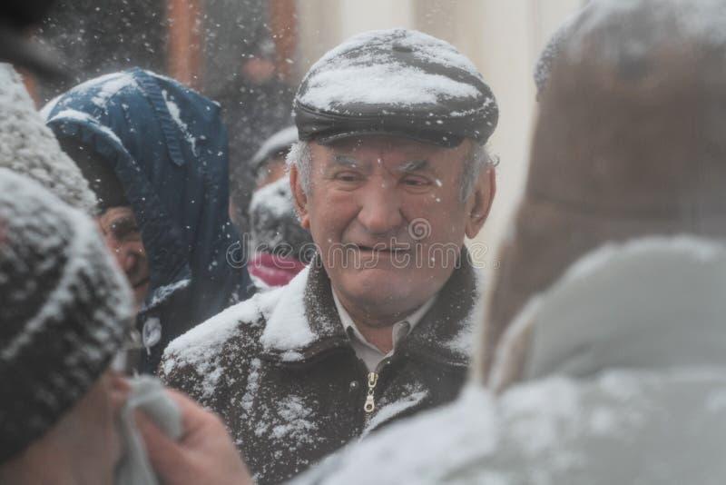 Commémoration du ` s de Ceausescu photos stock