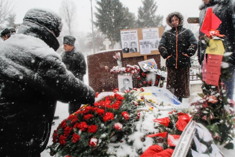 Commémoration du ` s de Ceausescu image libre de droits