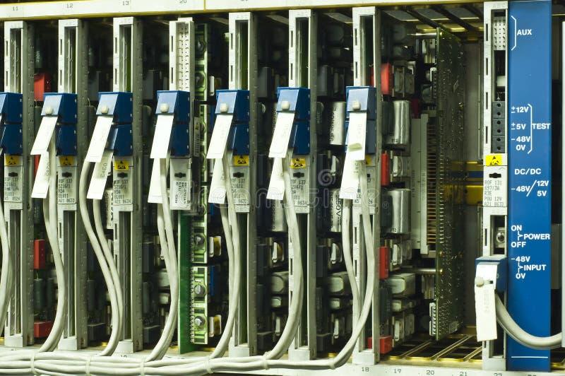 Comm. placa de circuito. imagens de stock