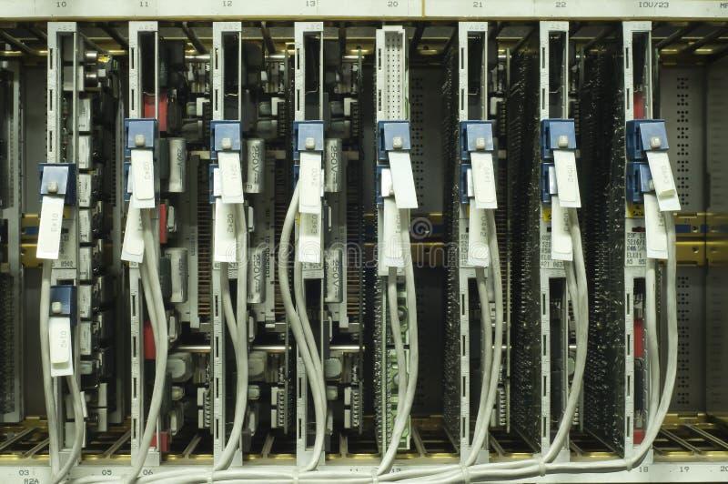 Comm. placa de circuito. fotografia de stock
