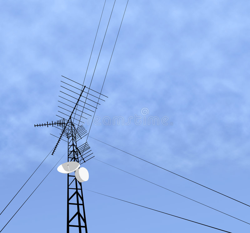 Download Comm Tower stock photo. Image of antenna, tower, airwaves - 702054