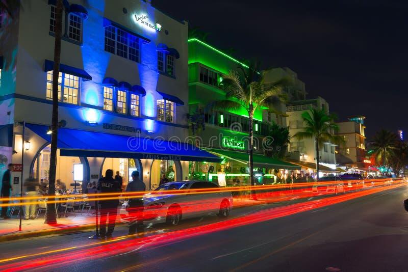 Commande d'océan, Miami photos libres de droits