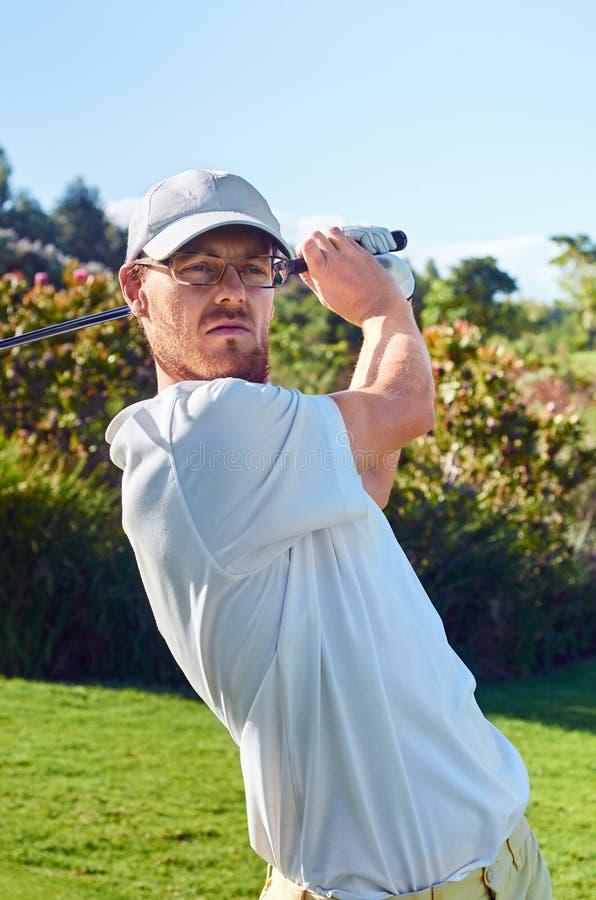 Commande de golf photos stock