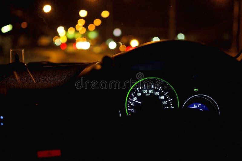 Commande de nuit photos stock