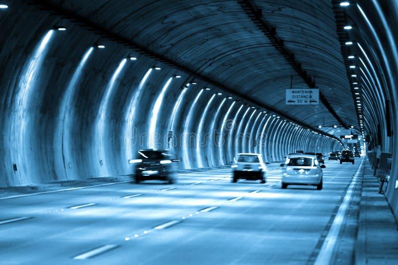 Commande de tunnel de Sao Paulo image libre de droits