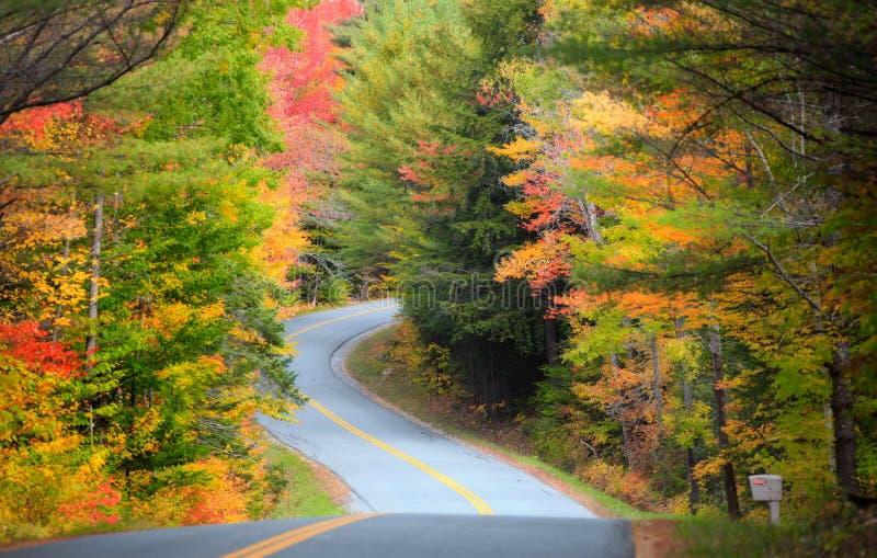 Commande scénique par la Nouvelle Angleterre photos libres de droits