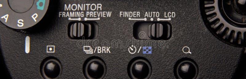 commandes de caméra photos libres de droits