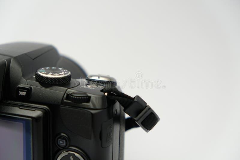 Commandes de caméra de DSLR photographie stock libre de droits