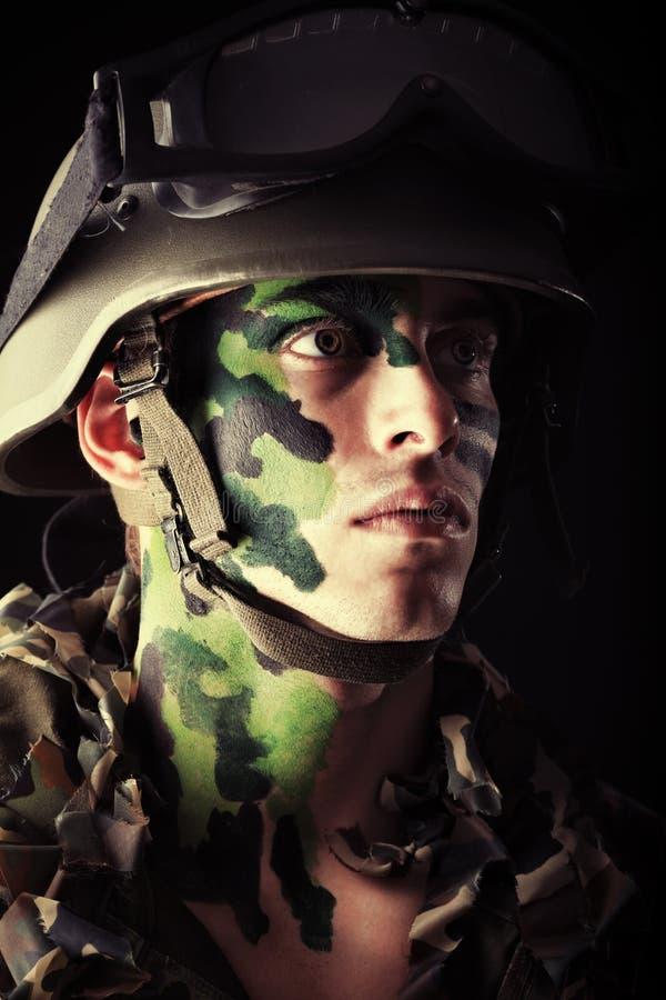 Commando stock photography