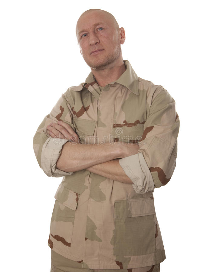 Commando images stock