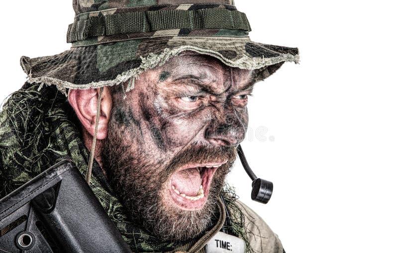 Commando degli Stati Uniti fotografie stock libere da diritti