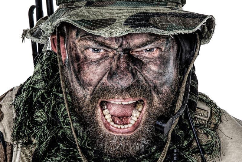 Commando degli Stati Uniti fotografia stock