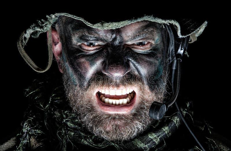 Commando degli Stati Uniti fotografia stock libera da diritti