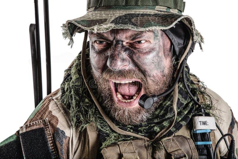 Commando des Etats-Unis image libre de droits