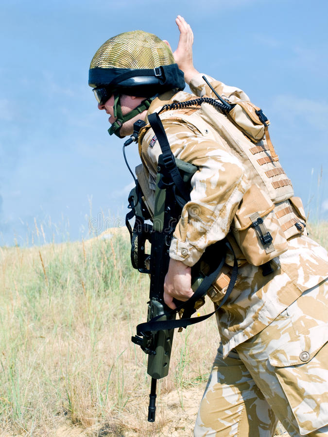 Commando royal photos stock