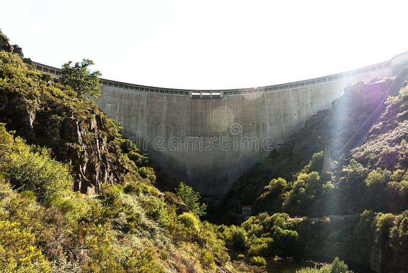 Comme barrage de Portas photographie stock