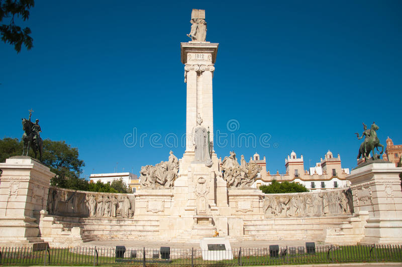 Download Commemoration Of The First Spanish Constitution Stock Image - Image: 16402877