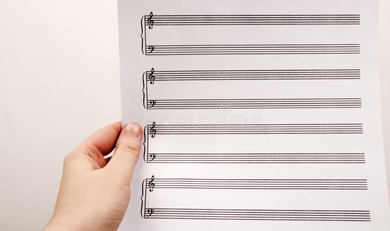 Commencez une éducation musicale photos stock