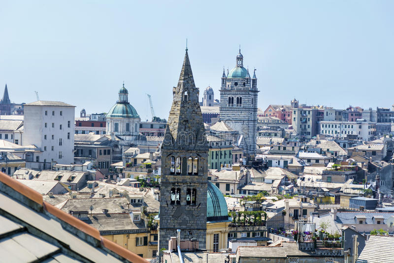 Commenda di San Giovanni di Pre, Génova, Italia imagenes de archivo