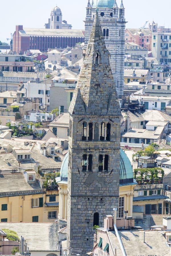 Commenda di San Giovanni di Pre, Génova, Italia fotografía de archivo