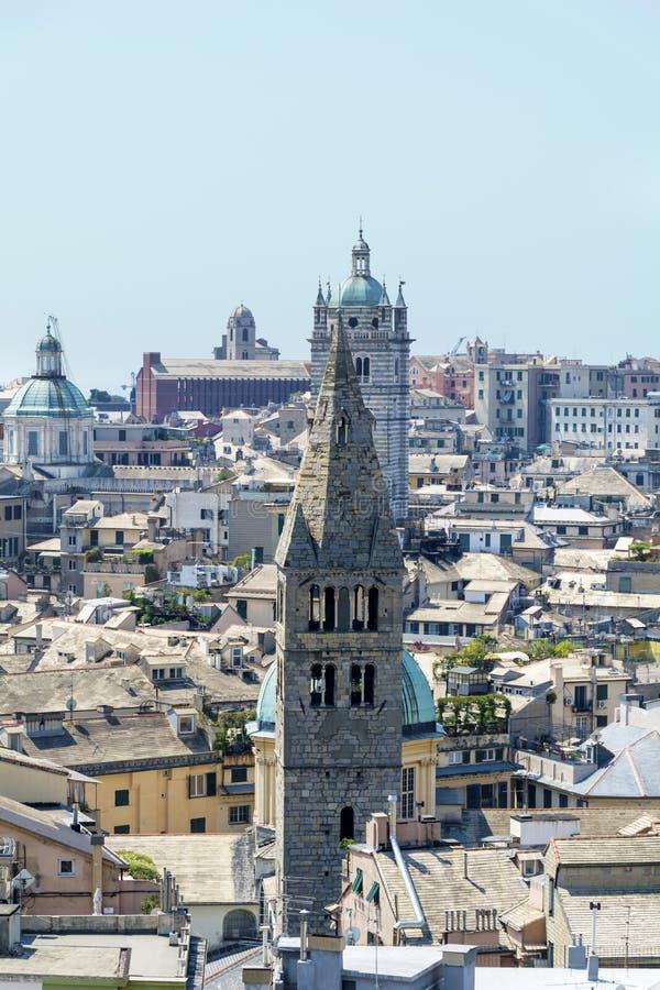 Commenda di San Giovanni di Pre, Génova, Italia imágenes de archivo libres de regalías