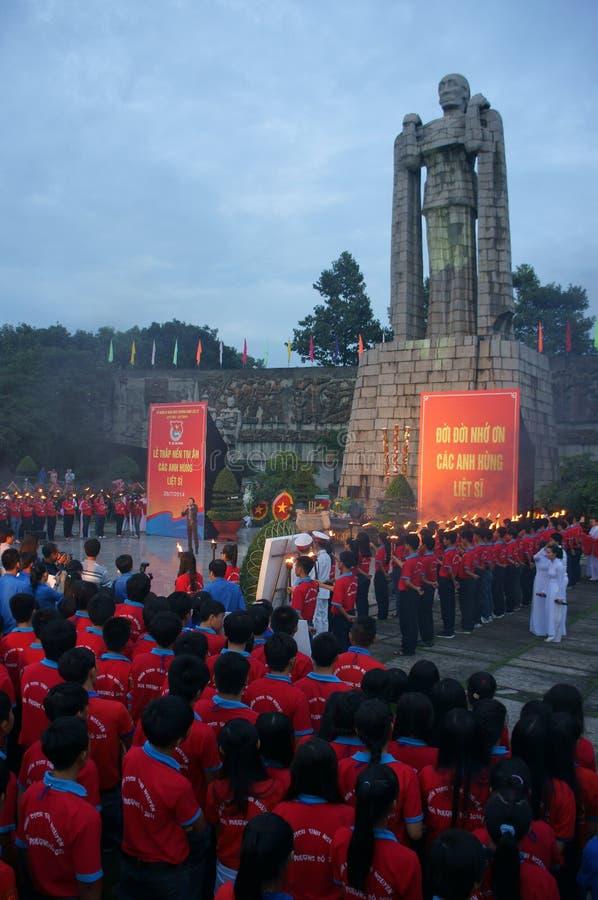 Commenorate héroïque, cimetière de martyre du Vietnam photo libre de droits