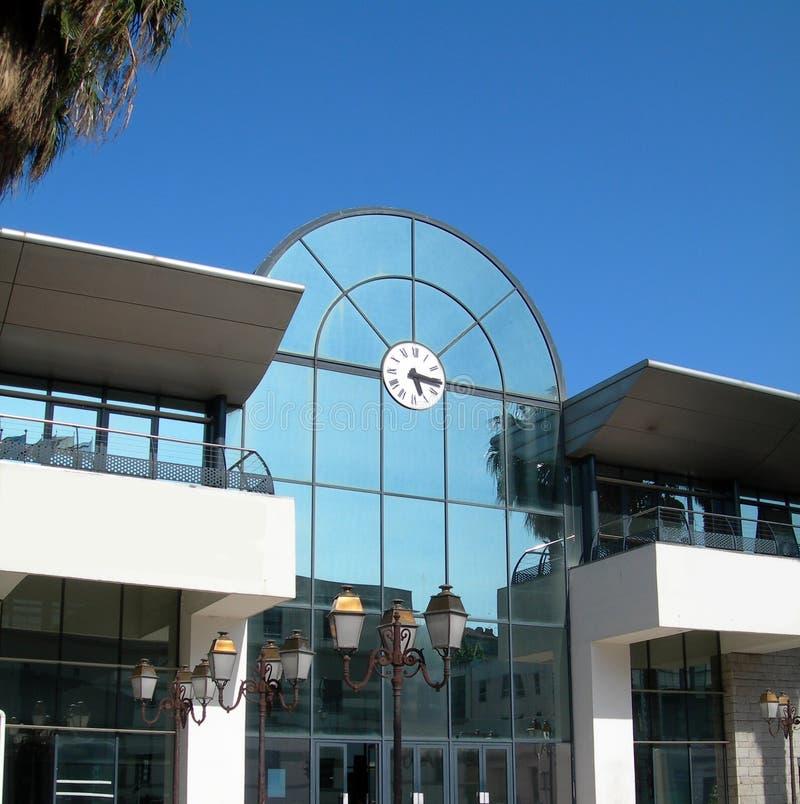 Commerce Ajaccio terminal maritime Corse de chambre images libres de droits