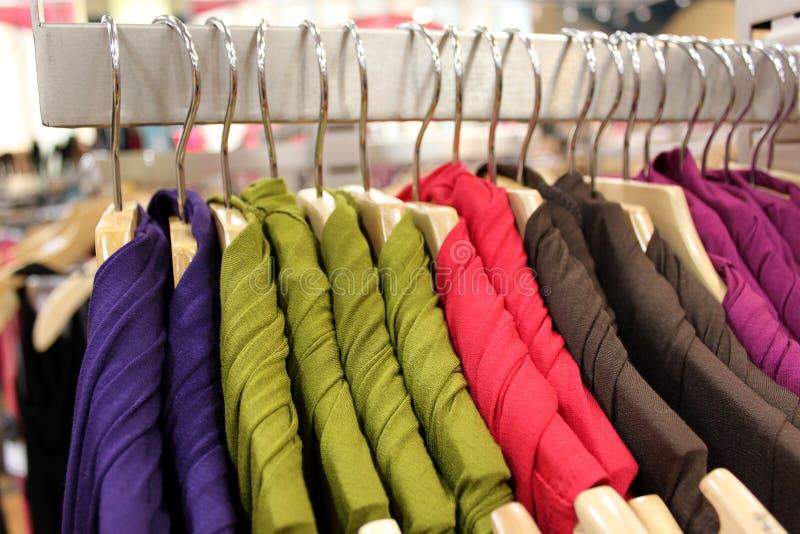 Commerce au détail d'habillement image libre de droits