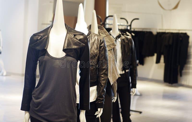 Commerce au détail moderne de mode photographie stock libre de droits