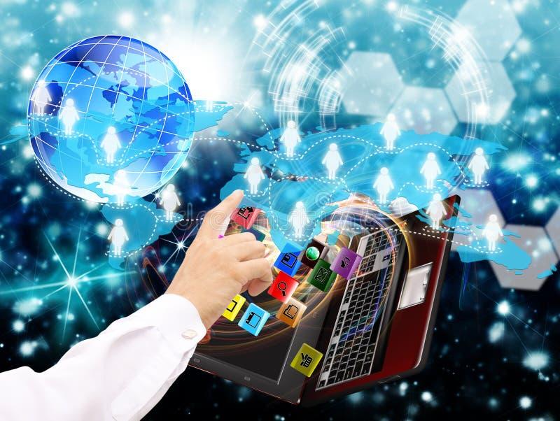 Commerce en ligne. Internet image libre de droits