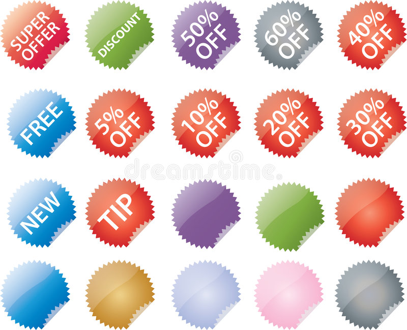 Download Commerce Labels Stock Images - Image: 7680224