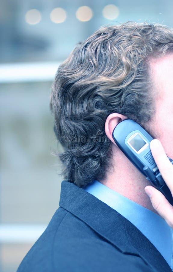Commerciële celtelefoon stock afbeelding
