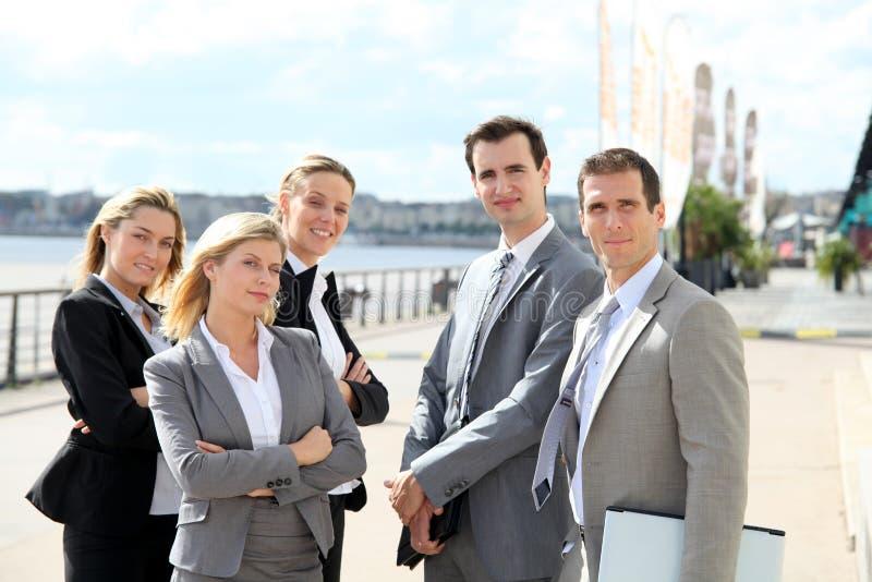 Commerciële groep stock fotografie