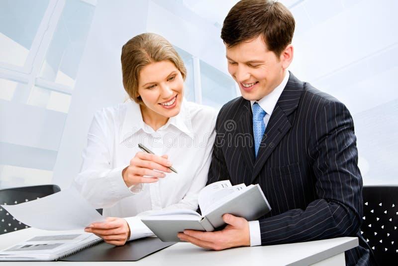 Commerciële groep stock afbeelding