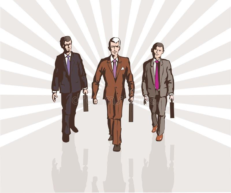 Commerciële groep royalty-vrije stock afbeelding