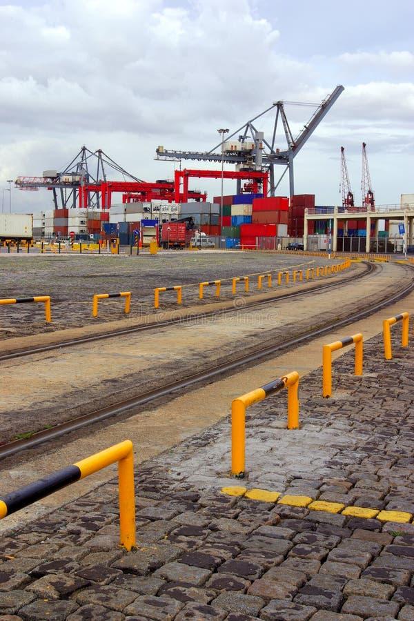 Commerciële Haven stock foto's