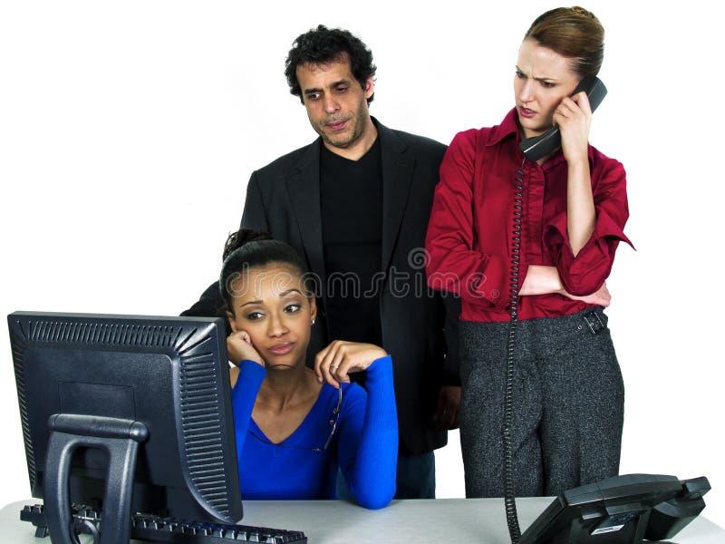 Commerciële teammislukking royalty-vrije stock afbeeldingen