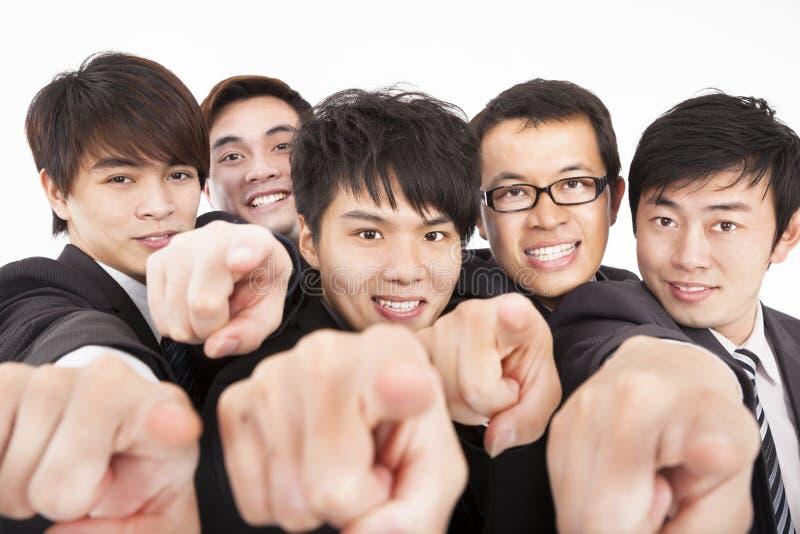 Commerciële van het succes groep stock foto's