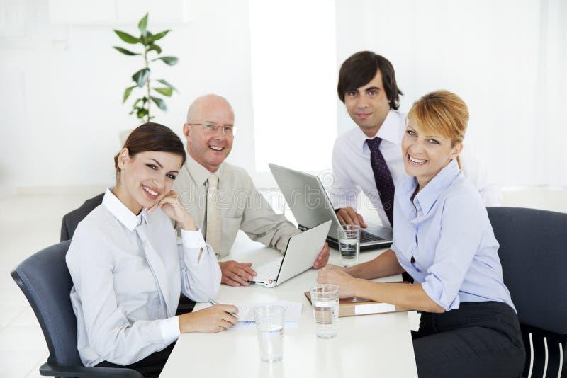 Commerciële vergadering royalty-vrije stock fotografie