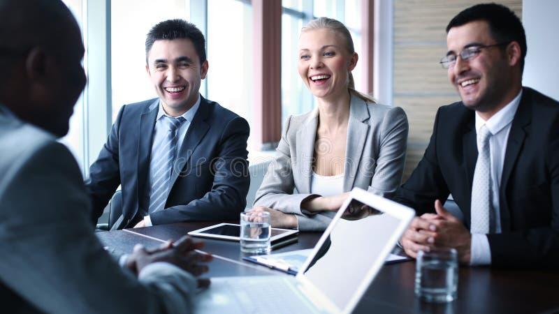 Commerciële vergadering royalty-vrije stock foto