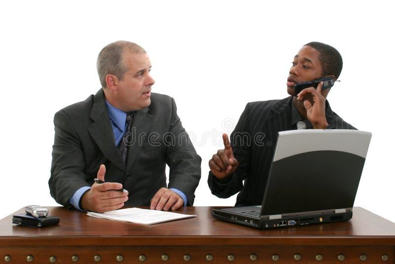Commerciële Vergadering over Greep stock foto's