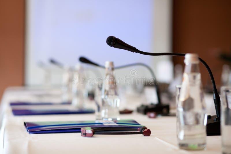 Commerciële vergaderingsruimte royalty-vrije stock afbeelding