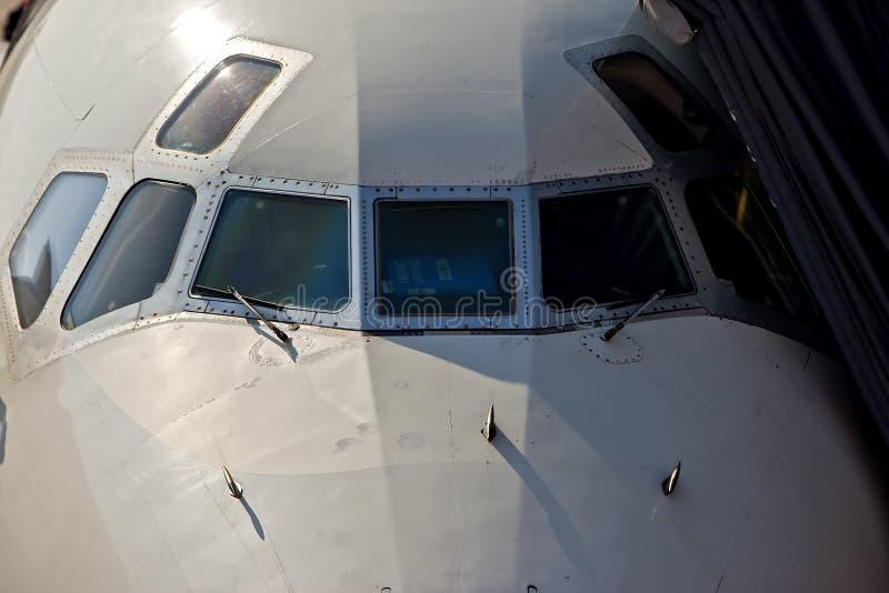 Commerciële Vliegtuigen royalty-vrije stock afbeelding