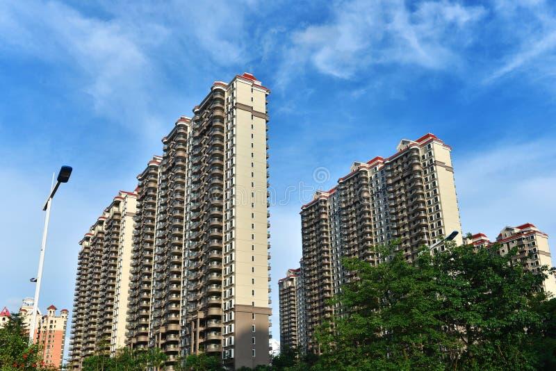 Commerciële woningbouw royalty-vrije stock foto