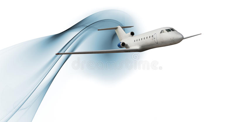 Download Commercial airliner stock illustration. Illustration of blue - 10769648