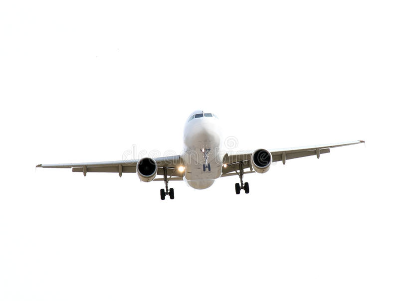 Download Commercial airplane stock photo. Image of white, postponed - 19009880