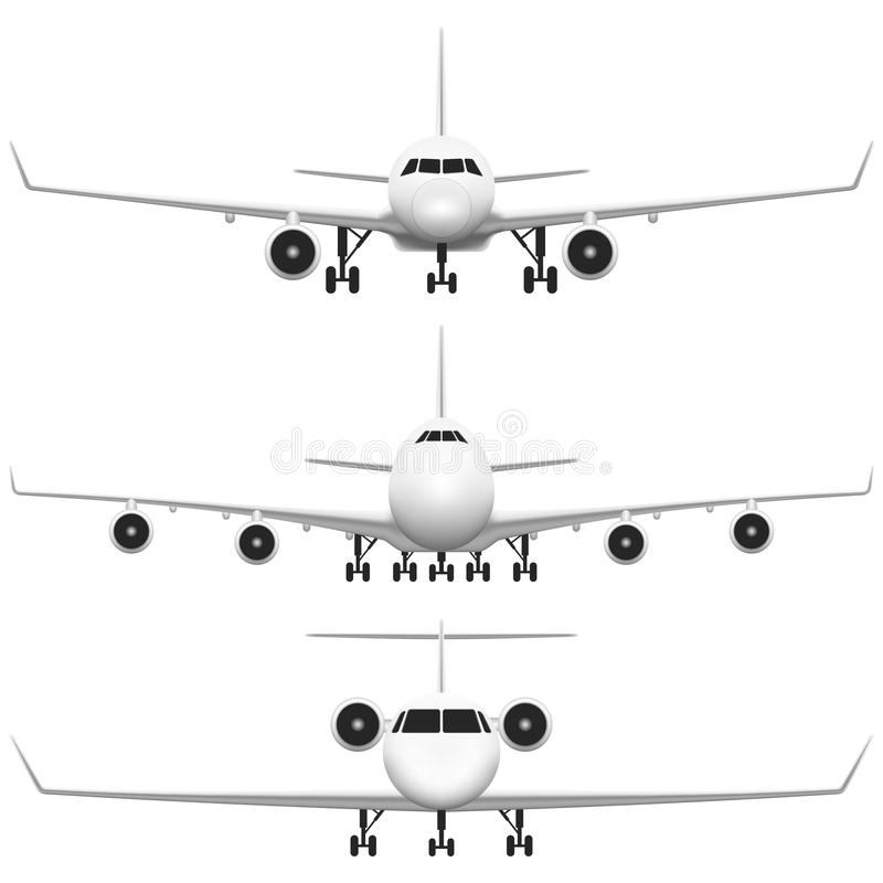Download Commercial Airplane stock illustration. Image of illustration - 32207255