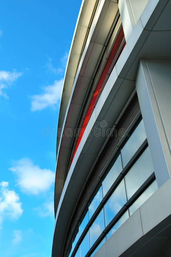 Commercial building royalty free stock image