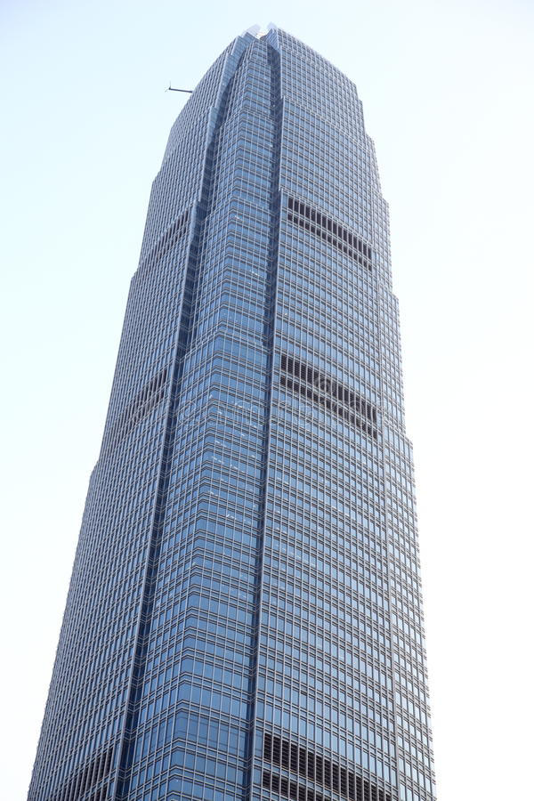 Commercial Building - Hong Kong royalty free stock photos