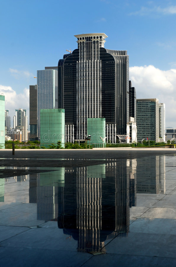 Free Commercial Buildings & Reflections Stock Images - 9322694